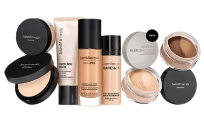 Foundation Shade Finder Match Your Skin Tone By Bareminerals